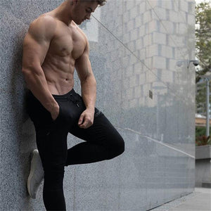 TOP QUALITY CASUAL PANTS MEN FITNESS / BODYBUILDING