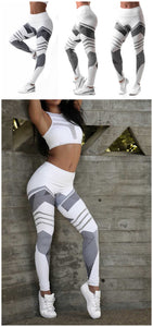 Fitness Yoga Sport Bra Leggings High Waist Stretch