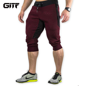 GITF Men's Sports Gym Athletic Shorts