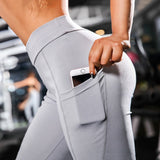 2019 Women  Yoga Pants With Pockets