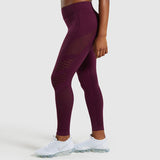 Flawless Knit Tights Women High Waist Gym  Yoga Pants