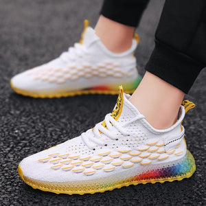 4D Print Men's Casual Fashion Sneakers