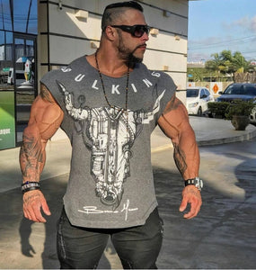 2019 New Gyms  Summer Bodybuilding and Fitness  T-shirt