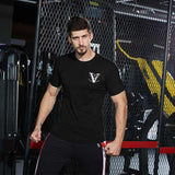 Fitness Short sleeve  Workout Training T-shirt