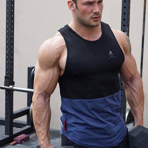2019 New GYM Brand Men Running Tank Tops