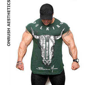 OA Muscle Men's Sleeveless Fitness Tank Tops