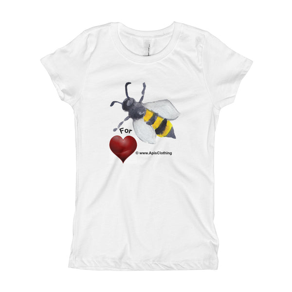 Girl's Bee 4 HEART T-Shirt