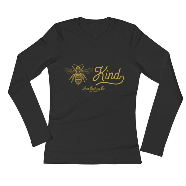 Ladies' Long Sleeve Bee Kind T-Shirt