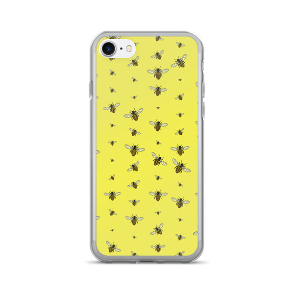 Random Bees iPhone 7/7 Plus Case