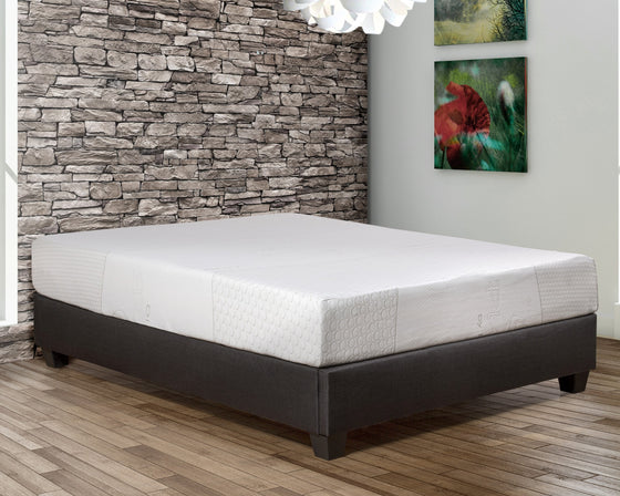 "10"" Gel Memory Foam Mattress - Fresco"