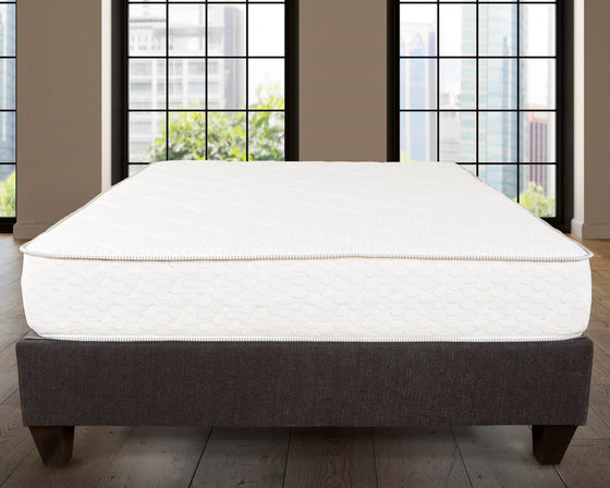 "10"" Gel Memory Foam Mattress - Pompeii"
