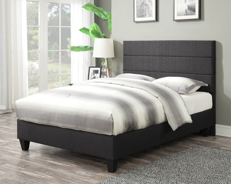 Bed Addy Platform Bed with Headboard