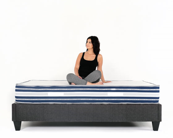 "Mattress Fantasma - 10"" Italian Gel Memory Foam Mattress w/ AcquaPuro Memory Foam"