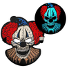 Sound Responsive LED Clown Masks