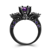 Dark Angel Retro Wedding Ring