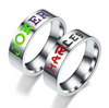 Joker  and Harley His and Hers Rings