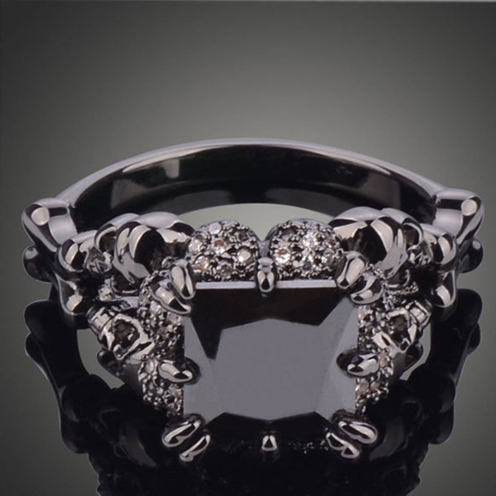 ring molten rhodium sterling black w med cuff nsite silver rings wedding in iteminfo diamonds