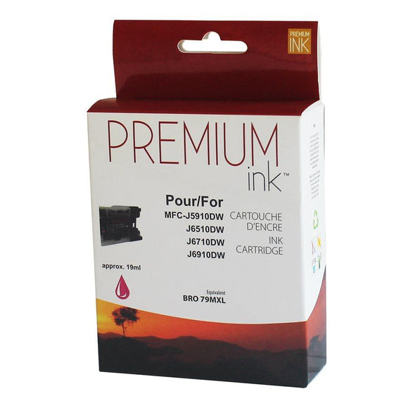 Brother LC79XL Compatible Magenta Premium Ink (19ml)