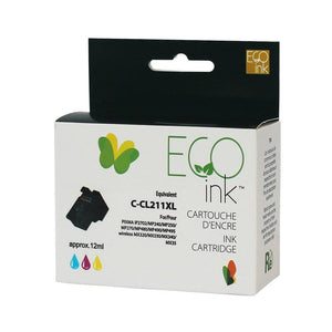 Canon CL211 XL Couleur Reman EcoInk