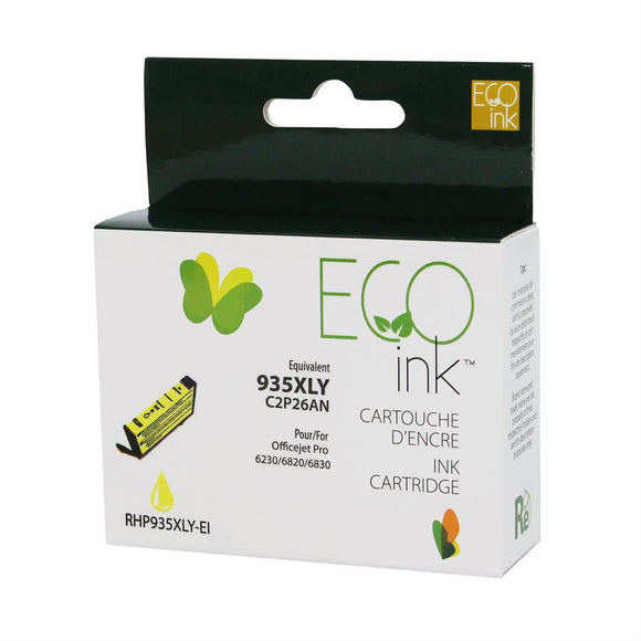 HP 935XL Jaune reman. EcoInk
