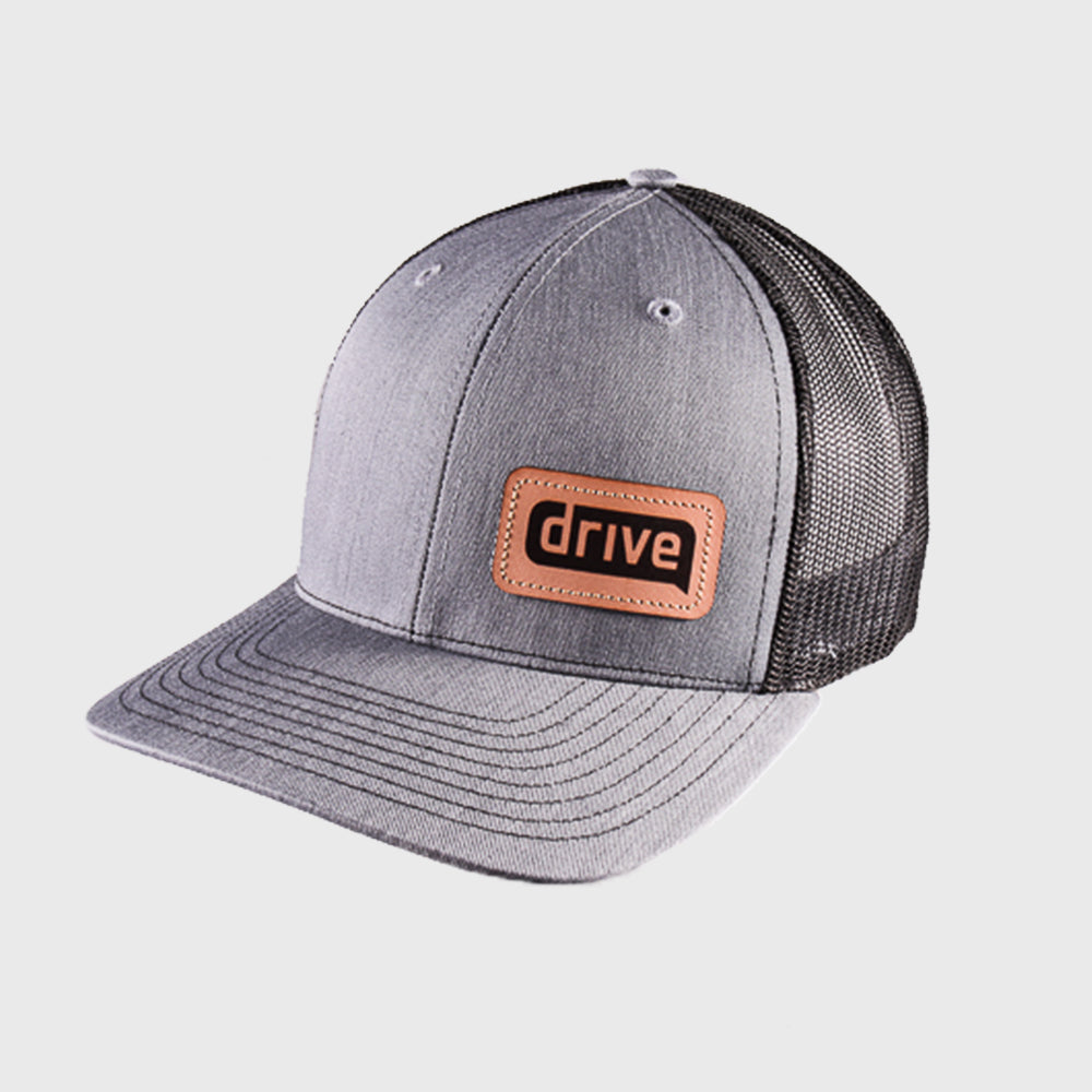 Drive Leather Patch Hat