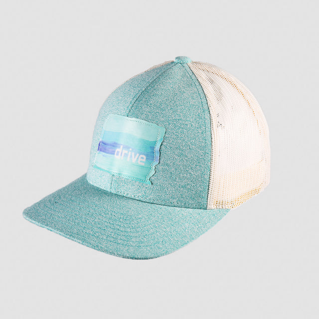 Watercolor Patch Hat