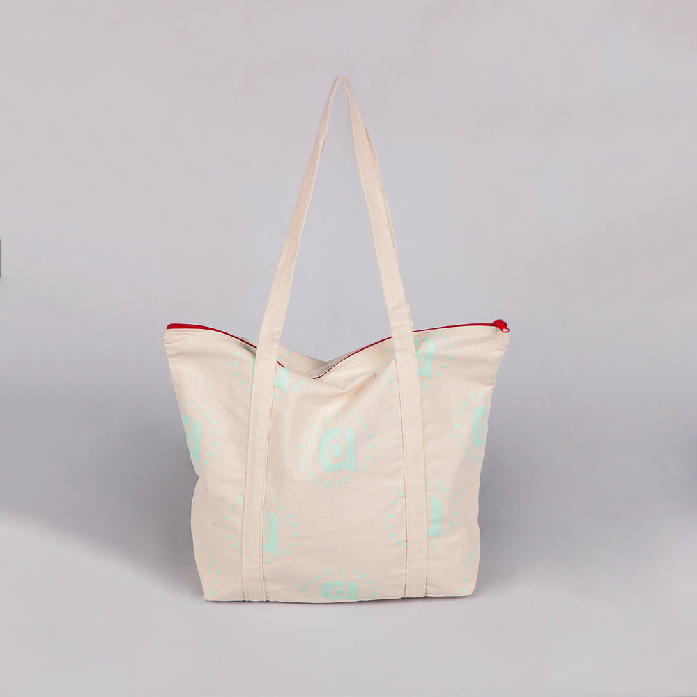 Bold Allover Pattern Tote
