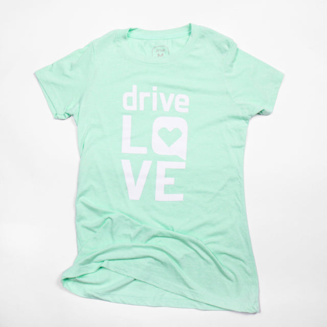 Ladies Drive Love Tee