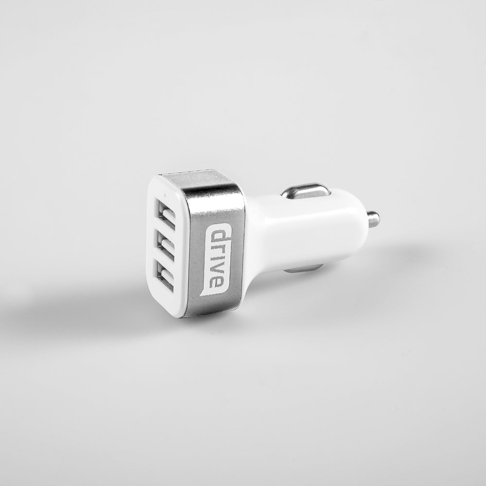 Three Port Car Charger