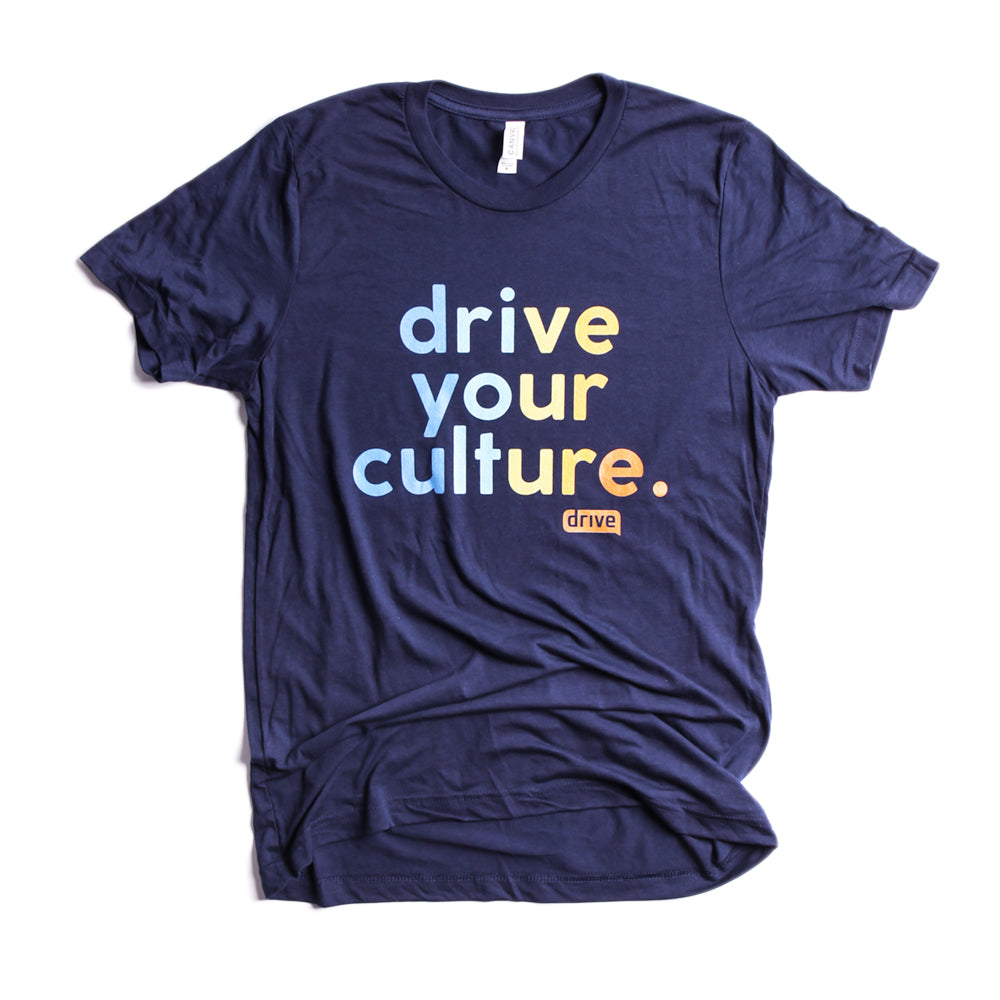Drive Your Culture Ombre' Bella + Canvas - Unisex Triblend Short Sleeve Tee