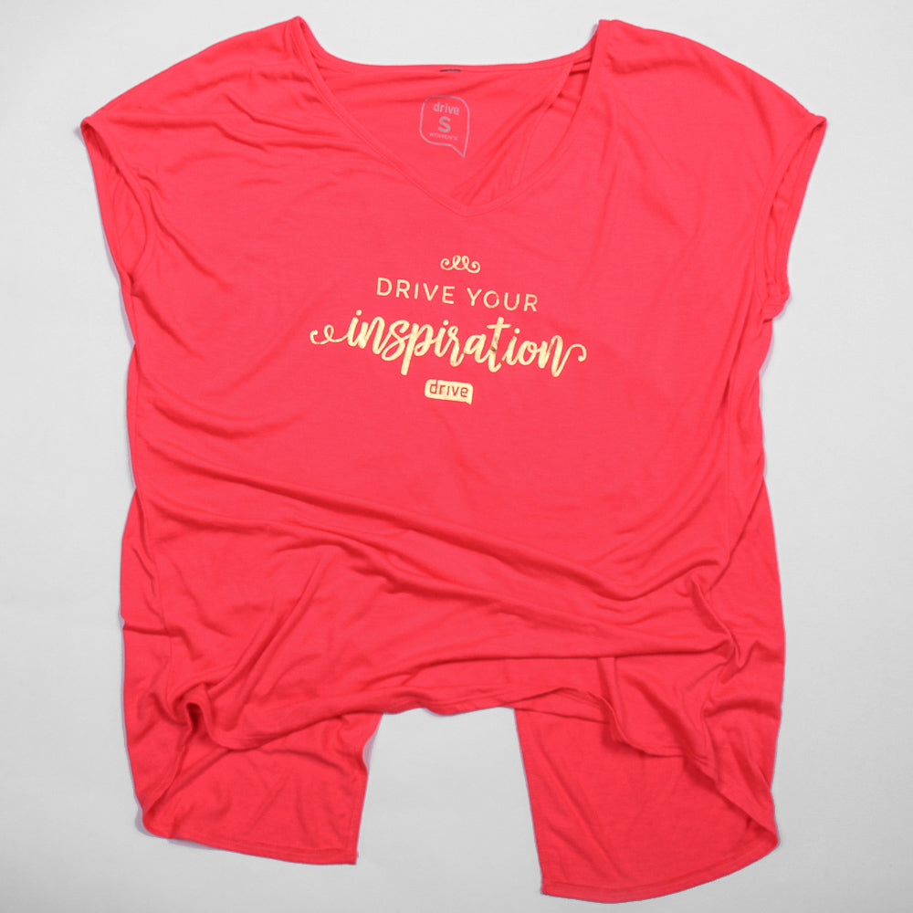 Ladies Inspiration Open Back Tee