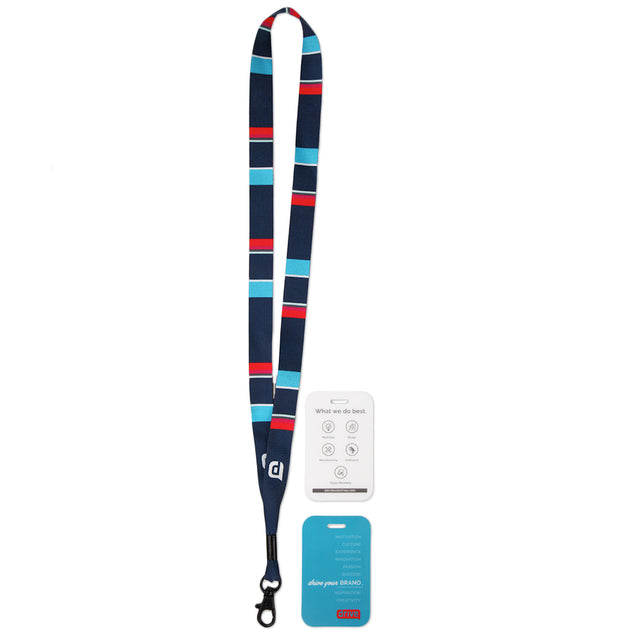 Lanyard-Badge Set