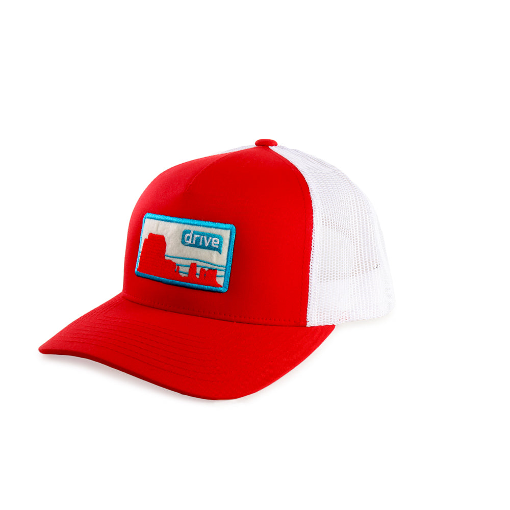 Drive Yupoong - Classics™ Five-Panel Retro Trucker Cap