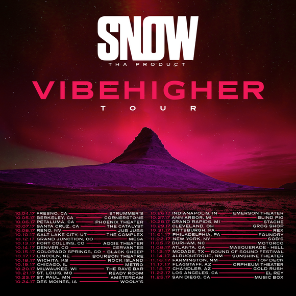 SNOW THA PRODUCT TOUR DATES RELEASED!
