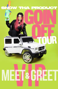 Snow Tha Product VIP Package Trees, Dallas, TX