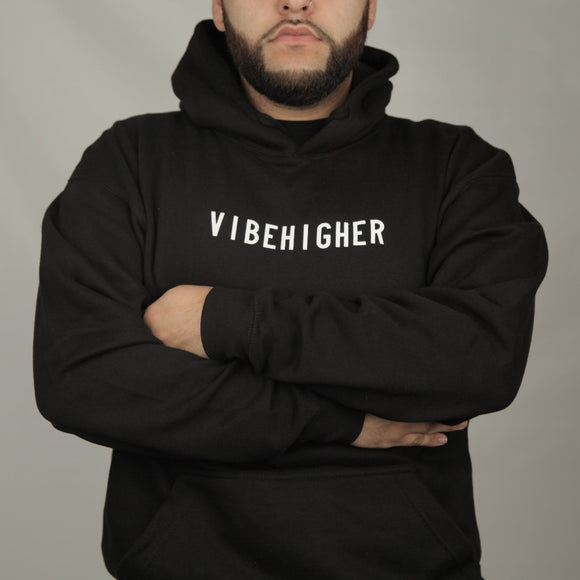 VIBE HIGHER TOUR - BLACK VIBE HIGHER HOODIE