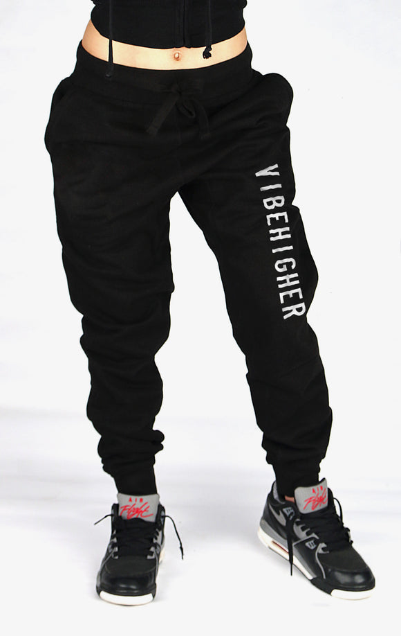 Vibe Higher Joggers (BLACK)