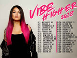 Vibe Higher 2018 Tour Posters