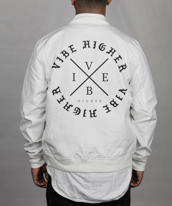 Vibe Higher Jacket (White)