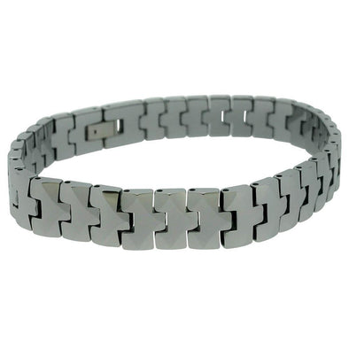 Reflective Polished Tungsten Bracelet