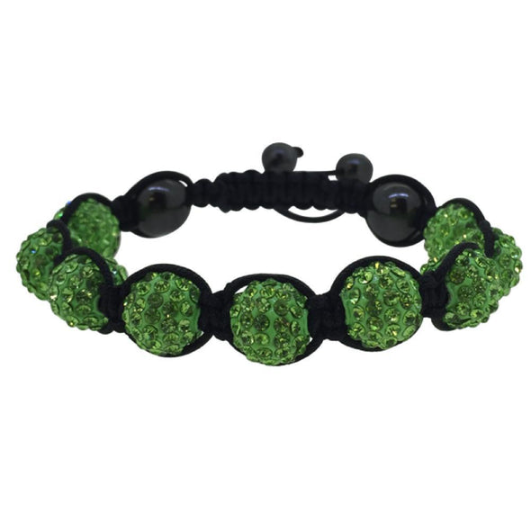 Green 10MM Disco Ball Bracelet