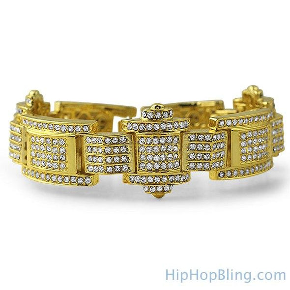 The Don Gold Bling Bling Bracelet