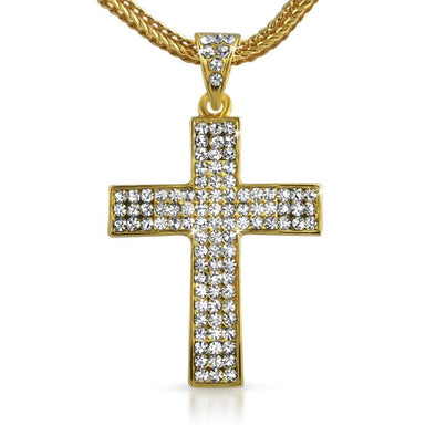 Small Gold Cross  Chain