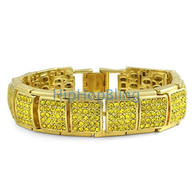 Ice Cube Lemonade Bling Bling Bracelet