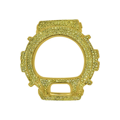Clearance Lemonade CZ Bezel for G Shock DW6900