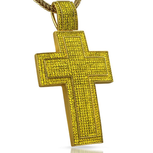 Cross XXL Mega Lemonade Bling Bling Pendant