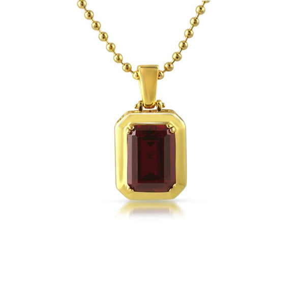 Clean Lab Ruby Rick Ross Style CZ Pendant