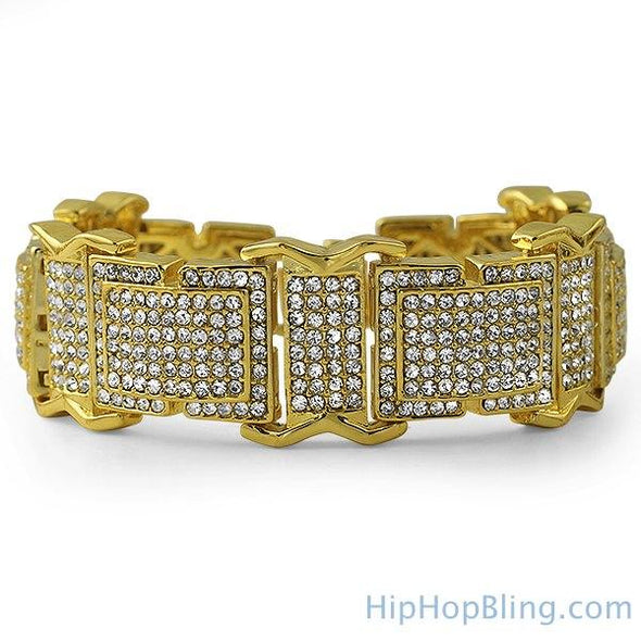 The Boss Gold Bling Bling Bracelet
