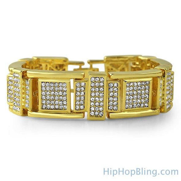 Fresh Gold Bling Bling Bracelet