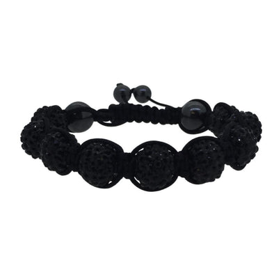 Black 10MM Disco Ball Bracelet